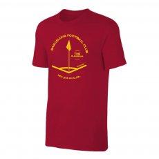 Barcelona 'CORNER' t-shirt, crimson
