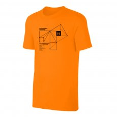 Johan Cruyff Ajax 'PYTHAGORAS' t-shirt, orange