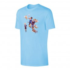 Maradona 'La Venganza de los Angeles' t-shirt, light blue