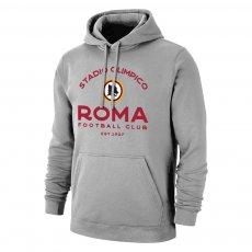 "Roma ""Estadio"" footer with hood, grey"