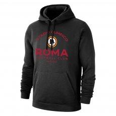 "Roma ""Estadio"" footer with hood, black"