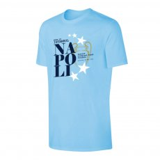 Napoli 'Road to ISTANBUL' t-shirt, light blue