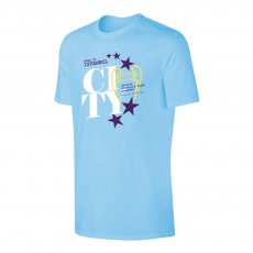 Manchester City 'Road to ISTANBUL' t-shirt, light blue
