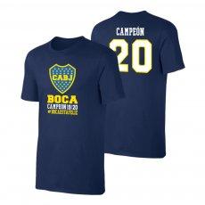 Boca Juniors 'Campeon 20' t-shirt, dark blue