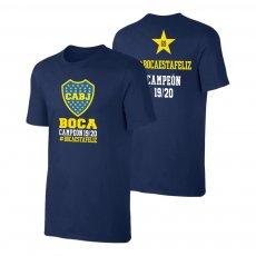 Boca Juniors 'BocaEstaFeliz' t-shirt, dark blue