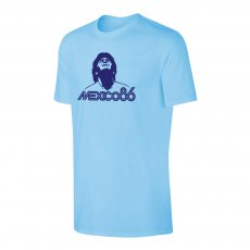 Diego Maradona 'Mexico 86' t-shirt, light blue