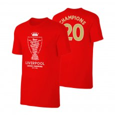 Liverpool 'Champions Trophy 2019/20' t-shirt, red