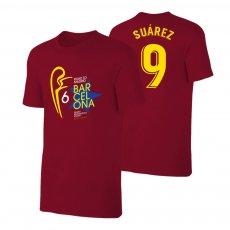 Barcelona 'Road to MADRID' t-shirt SUAREZ, crimson