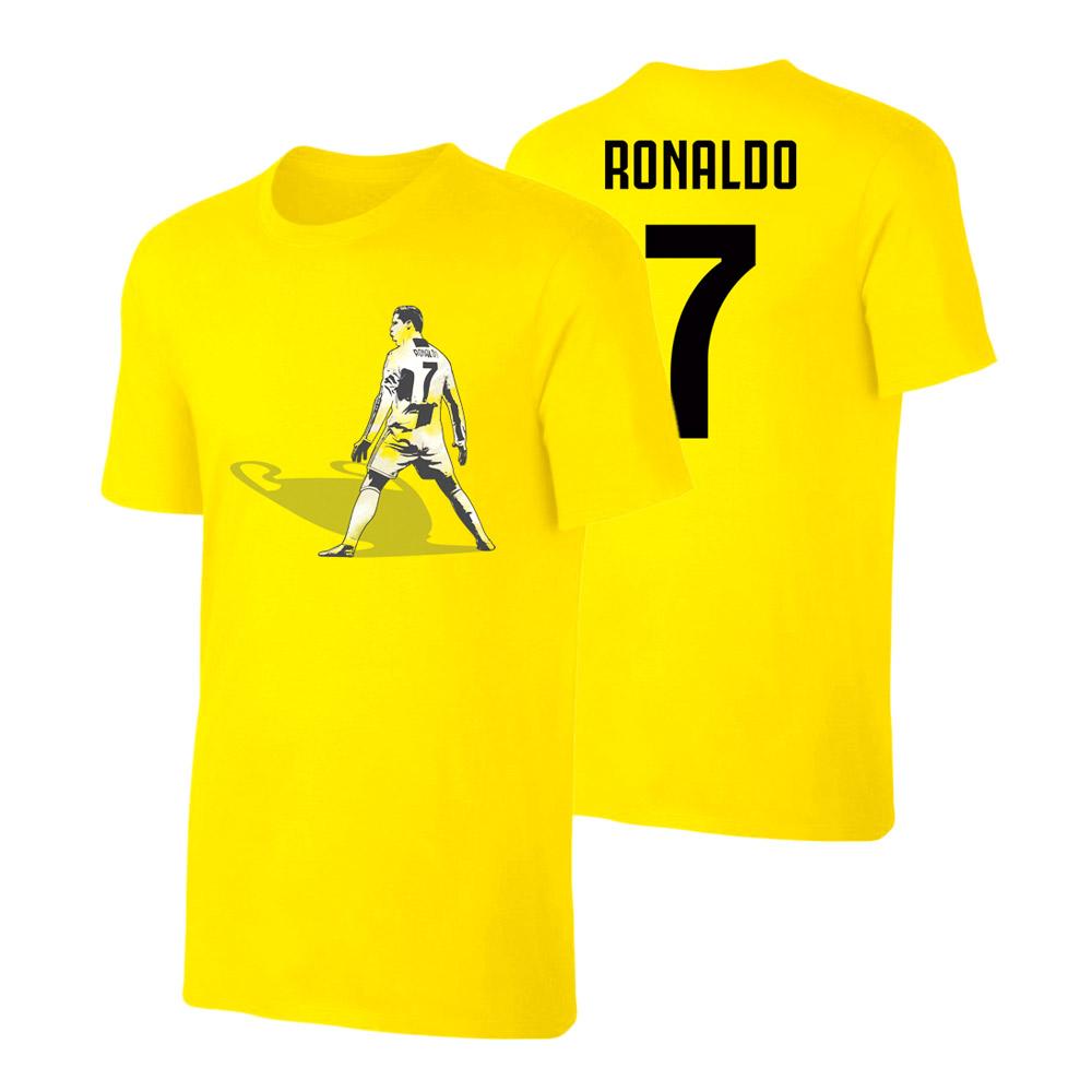 Juventus CL Shade t-shirt RONALDO, yellow