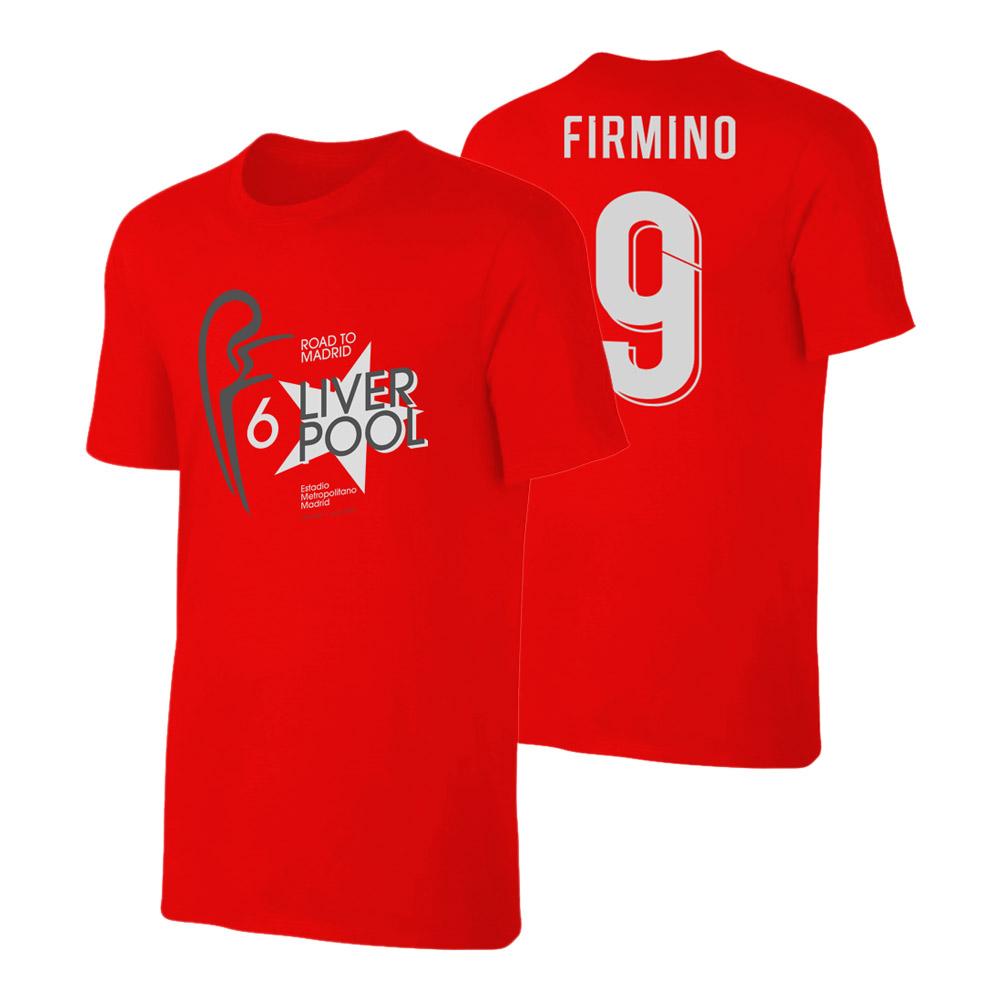 buy popular b2b11 7e53d Liverpool 'Road to MADRID' t-shirt FIRMINO, redSA000840