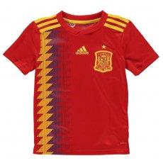 Spain junior home shirt 2018