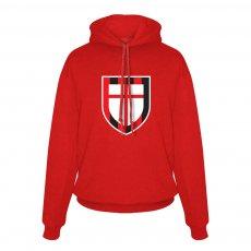 Μίλαν φούτερ με κουκούλα St. George cross, κόκκινο