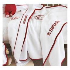 Ολυμπιακός μπάσκετ βρεφική κουβέρτα fleece