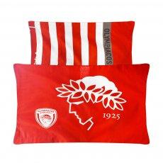 Olympiacos BC pillowcases set 50 x 75cm. Palamaiki