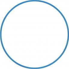 Χούλα-Χουπ 76cm - Φ18mm - 185gr, Μπλε