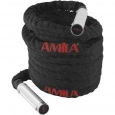 Battle Rope με χερούλια αλουμινίου (15m)
