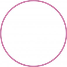 Χούλα-Χουπ 60cm - Φ19mm - 230gr, Ροζ