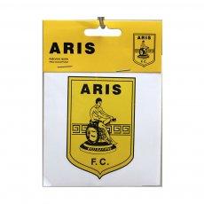 ΑΥΤΟΚΟΛΛΗΤΑ ARIS FC LOGO ΚΙΝΑΣ