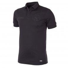 All Black Football Shirt
