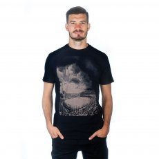 Bombonera Clouds T-Shirt | Black