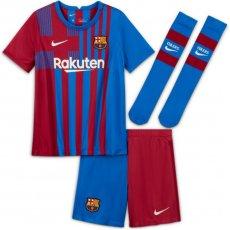Komplet Nike FC Barcelona 2021/22 Home Jr CV8268