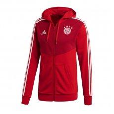 Sweatshirt adidas Bayern Munich 3S FZ Hoodie M CW7345