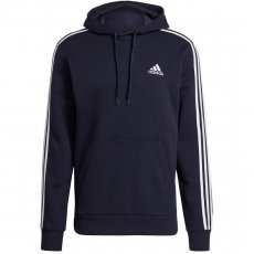 Adidas Essentials Fleece 3-Stripes Hoodie M GK9073