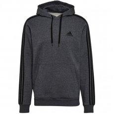 Adidas Essentials Fleece 3-Stripes Hoodie M GK9082