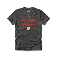 Olympiacos BC 2020/21 t-shirt Together We Fight, grey