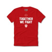 Olympiacos BC 2020/21 t-shirt Together We Fight, red