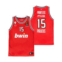Olympiacos BC 2020/21 home shirt PRINTEZIS