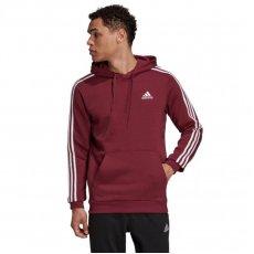 Adidas 3-Stripes Fleece Hoodie M H12187