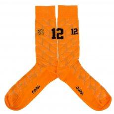 Holland 1988 retro socks COPA, orange