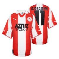 Olympiacos 1999/00 match worn home shirt DJORDJEVIC