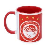 Olympiacos 'Emblem' mug, red