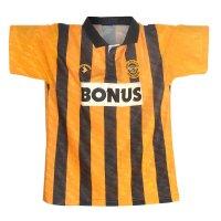 Hull City 1990/92 home shirt