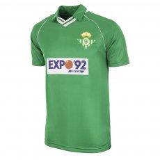 Real Betis 1987 - 90 away retro football shirt COPA