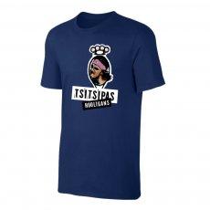 Tsitsipas Hooligans μπλουζάκι, σκούρο μπλε