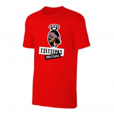 Tsitsipas Hooligans μπλουζάκι, κόκκινο
