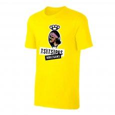 Tsitsipas Hooligans μπλουζάκι, κίτρινο