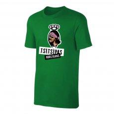 Tsitsipas Hooligans μπλουζάκι, πράσινο