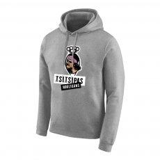 Tsitsipas Hooligans φούτερ με κουκούλα, γκρι