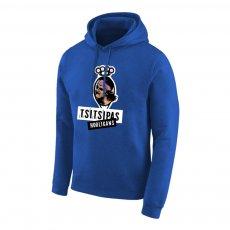 Tsitsipas Hooligans φούτερ με κουκούλα, μπλε
