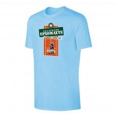 Tsitsipas Hooligans μπλουζάκι 'ROLAGARO', ανοιχτό μπλε