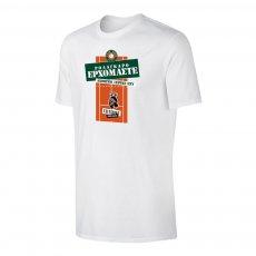 Tsitsipas Hooligans μπλουζάκι 'ROLAGARO', λευκό