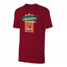 Tsitsipas Hooligans μπλουζάκι 'ROLAGARO', βυσσινί