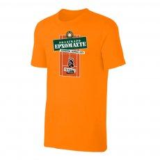 Tsitsipas Hooligans μπλουζάκι 'ROLAGARO', πορτοκαλί