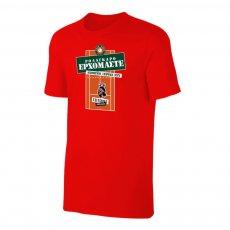 Tsitsipas Hooligans μπλουζάκι 'ROLAGARO', κόκκινο