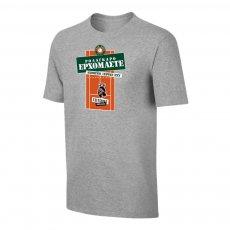 Tsitsipas Hooligans μπλουζάκι 'ROLAGARO', γκρι