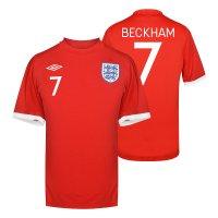 England NT 2010 away shirt BECKHAM